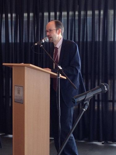Doyen Sébastien Grammond lors de la Conférence sur l'Amérique latine MAR 24-25 2014