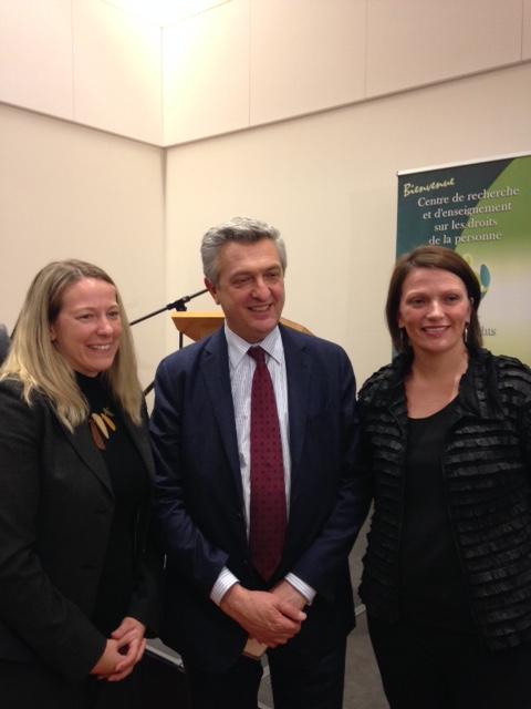 Filippo Grandi (UNHCR High Commissioner's Visit to Ottawa) - March 2016