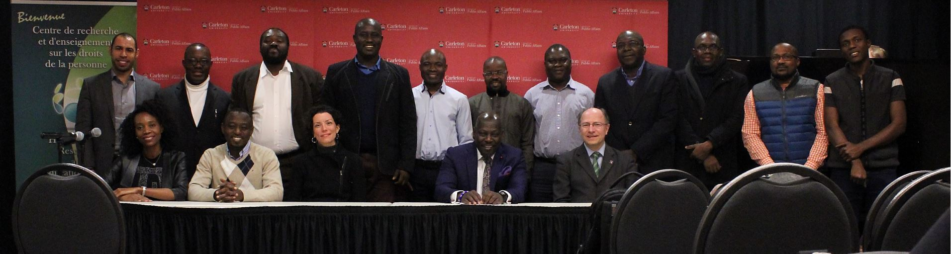 Conference Human Rights and the Public Sphere in Africa - March 2016