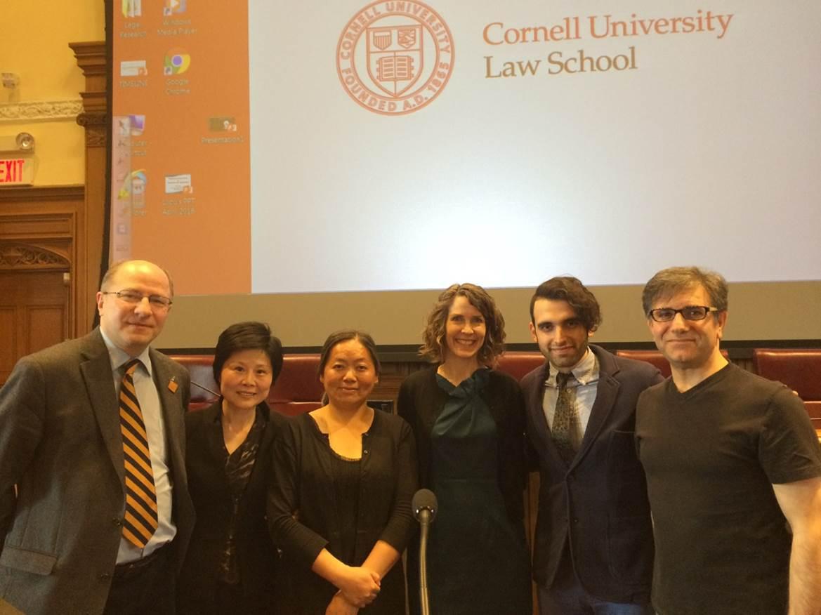 John Packer, Lilou Jiang, Zhiyuan Guo, Sandra Babcock, Omid Milani and Hossein Raeesi