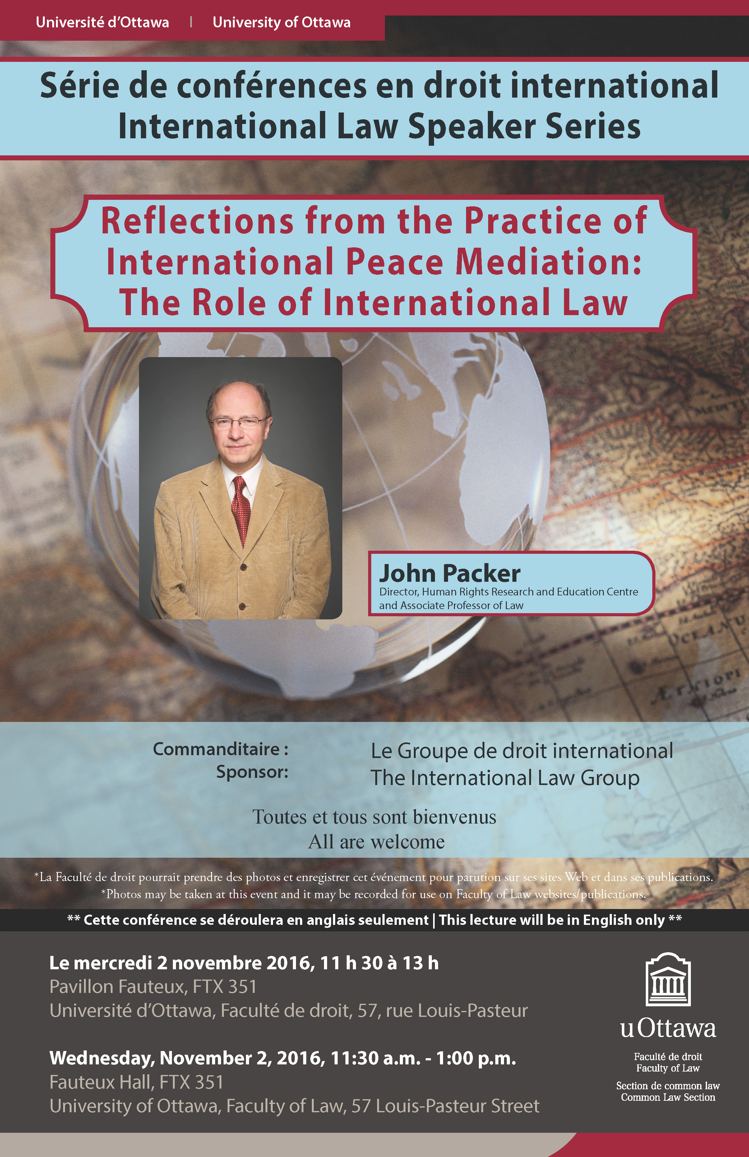 The Role of International Law by John Packer