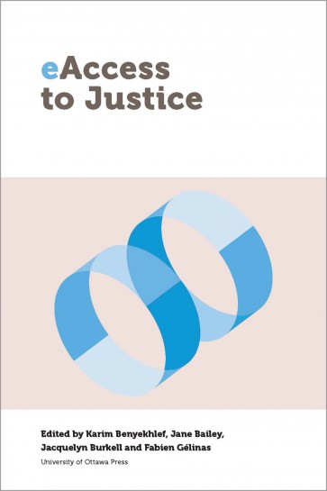 Book | Livre - Jane Bailey - eAccess to Justice