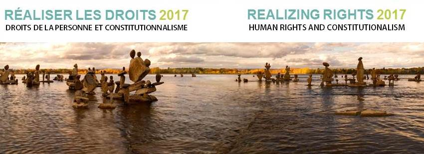 Conference - Realizing Rights 2017 | Conférence - Réaliser les droits 2017