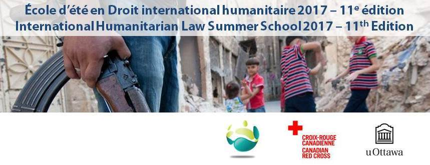 Summer School on IHL 2017 | École d'été en DIH 2017