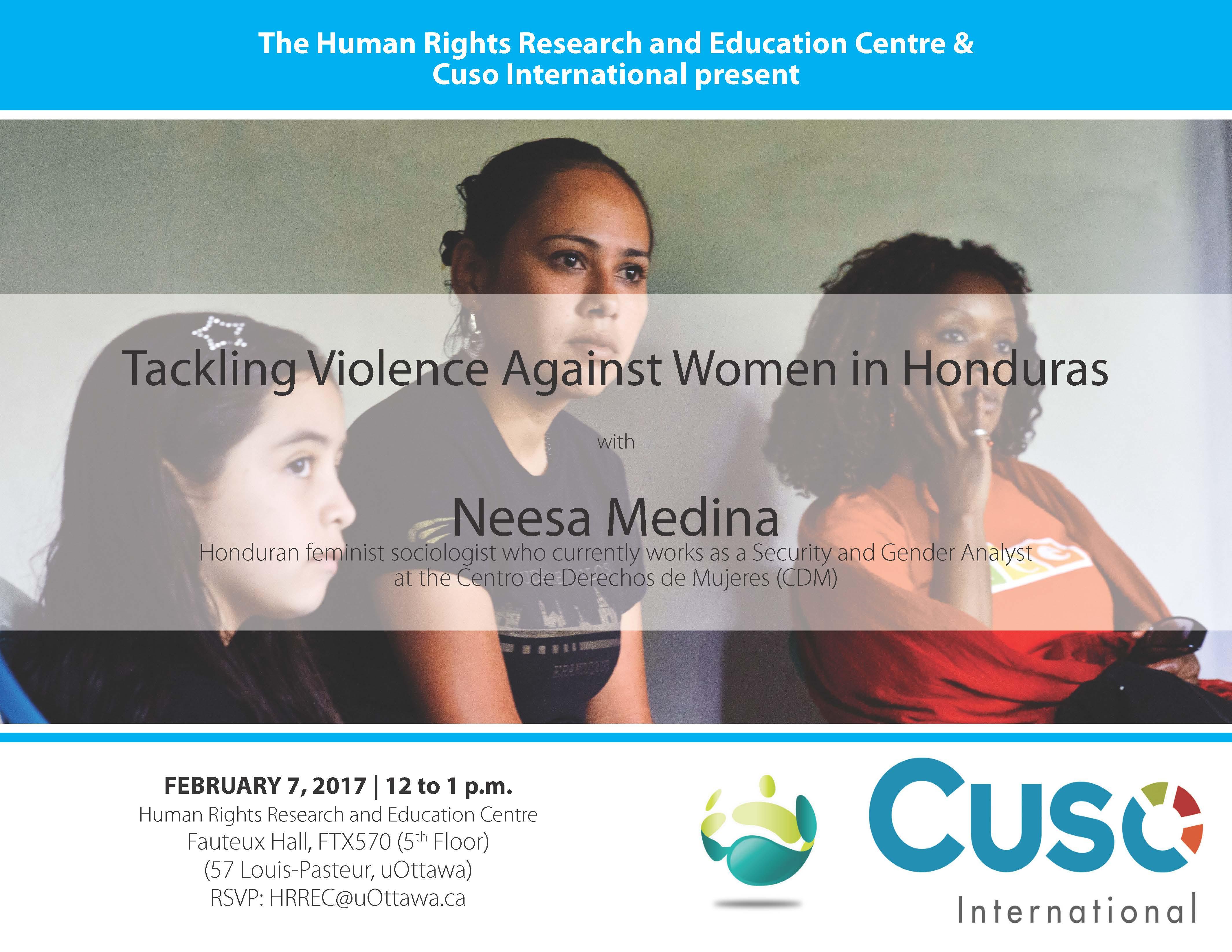 Tackling Violence against Women in Honduras