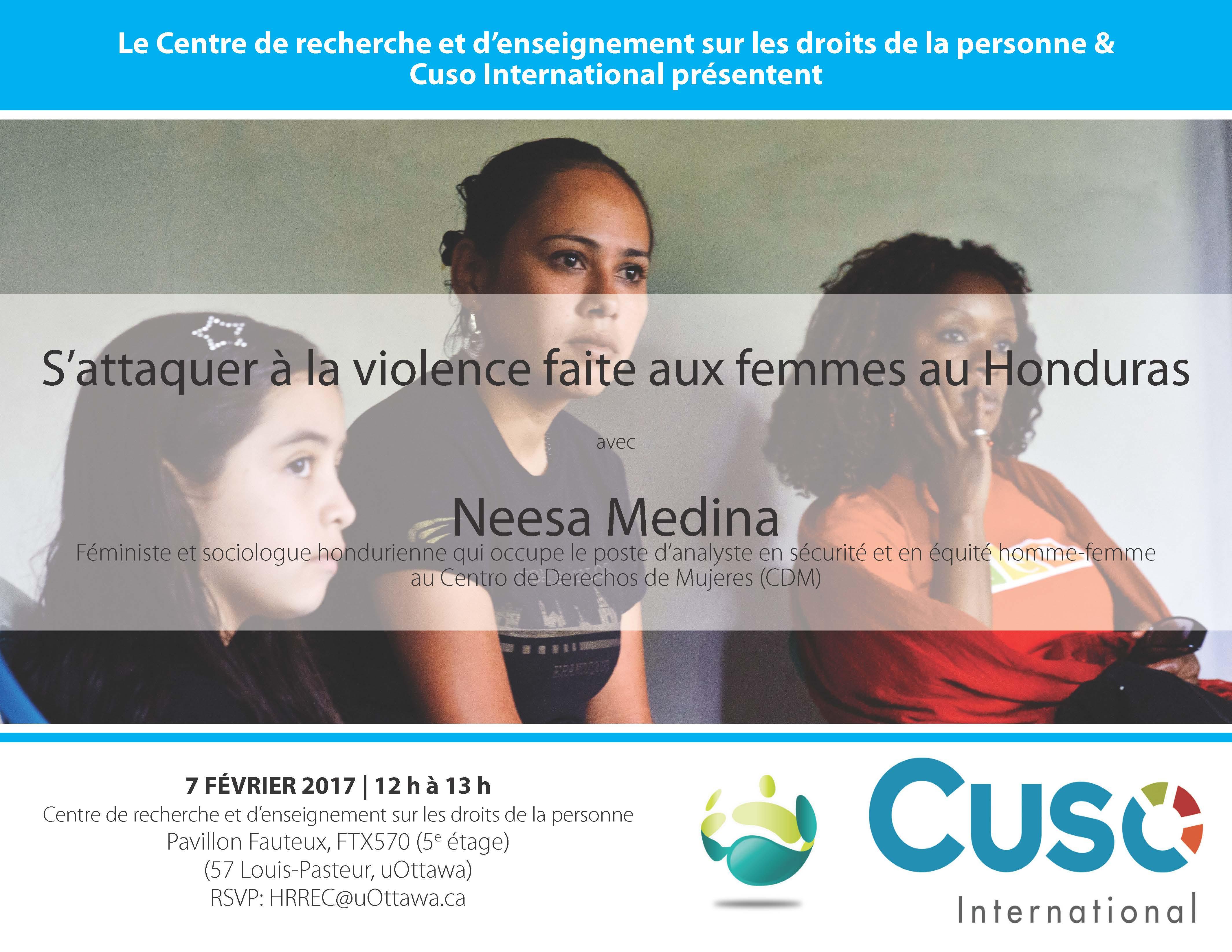 S'attaquer à la violence faite aux femmes au Honduras