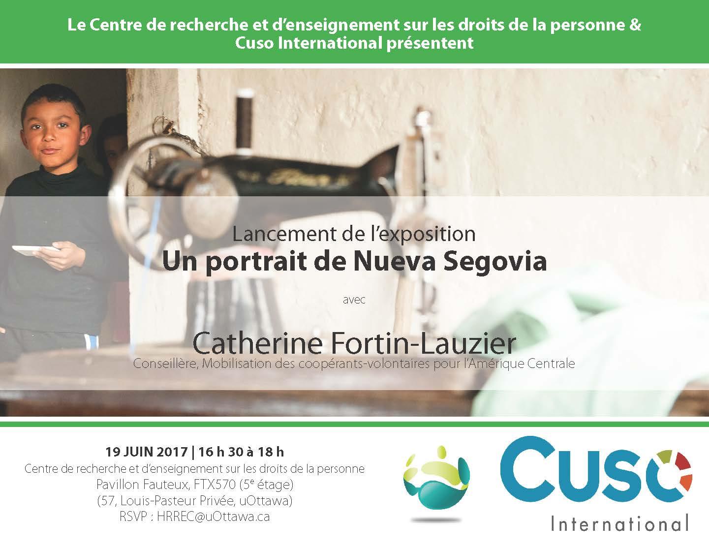 Exposition - Un portrait de Nueva Segovia