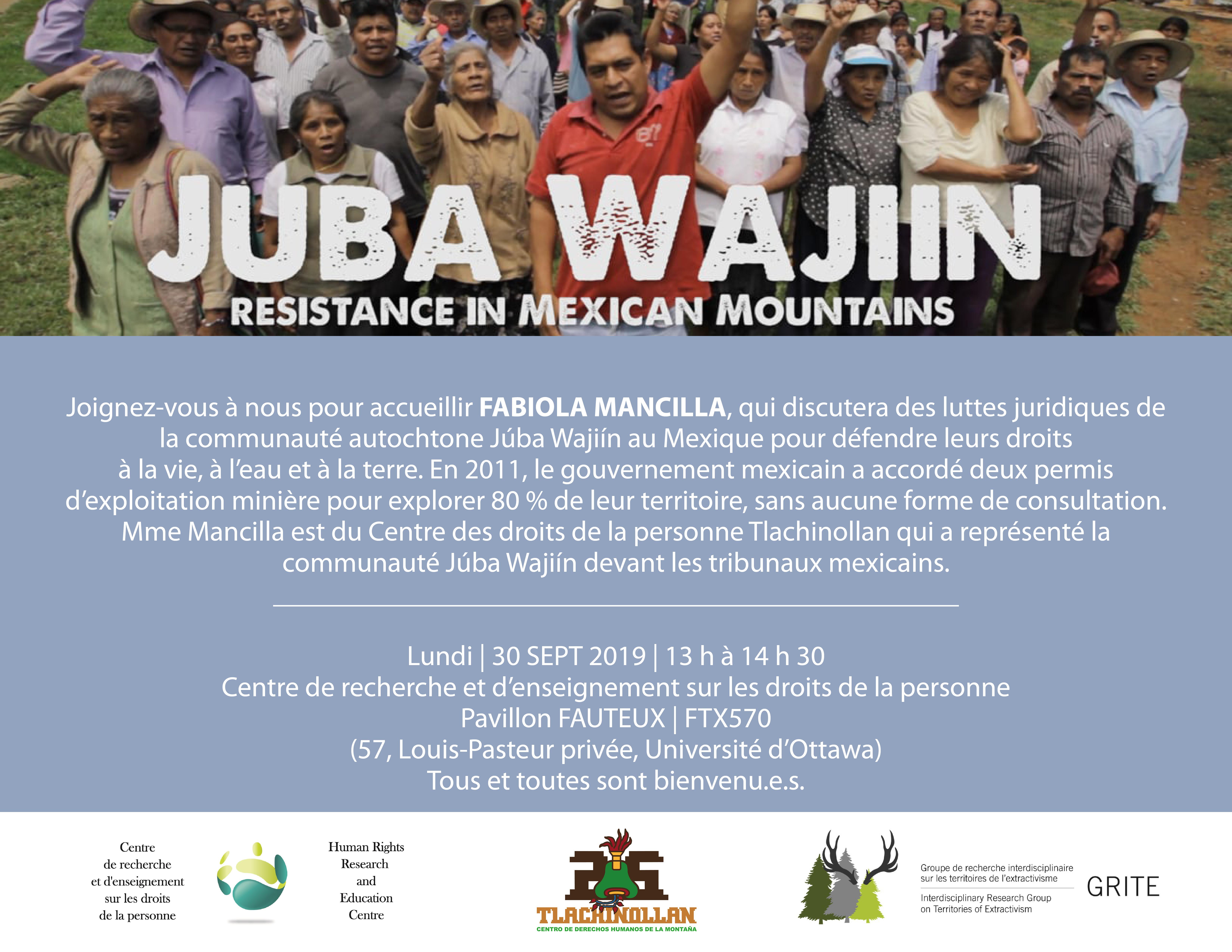 Résistance dans les montagnes mexicaines