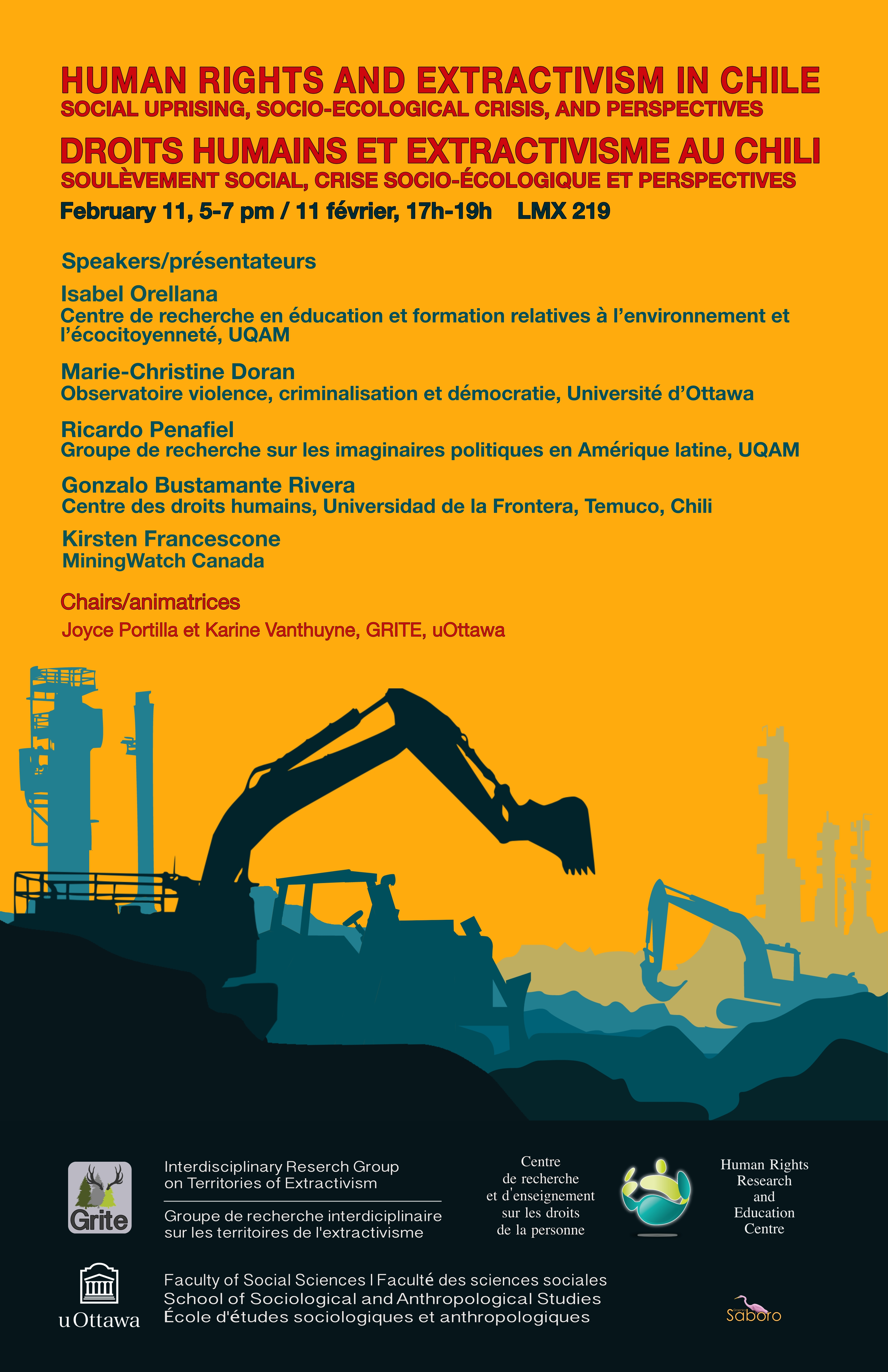 Event - Human Rights and Extractivism in Chile
