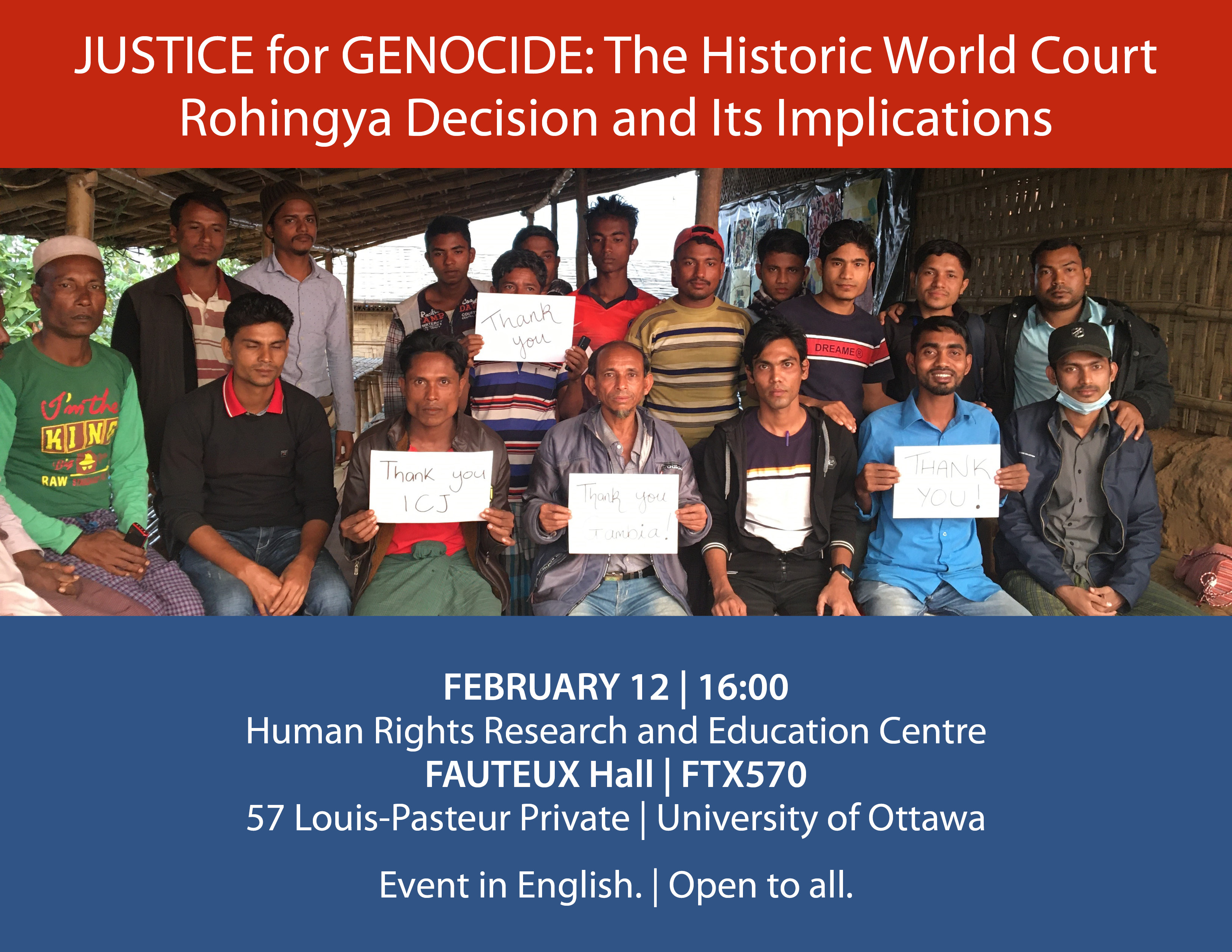 12 FEB 2020 - Justice for Genocide