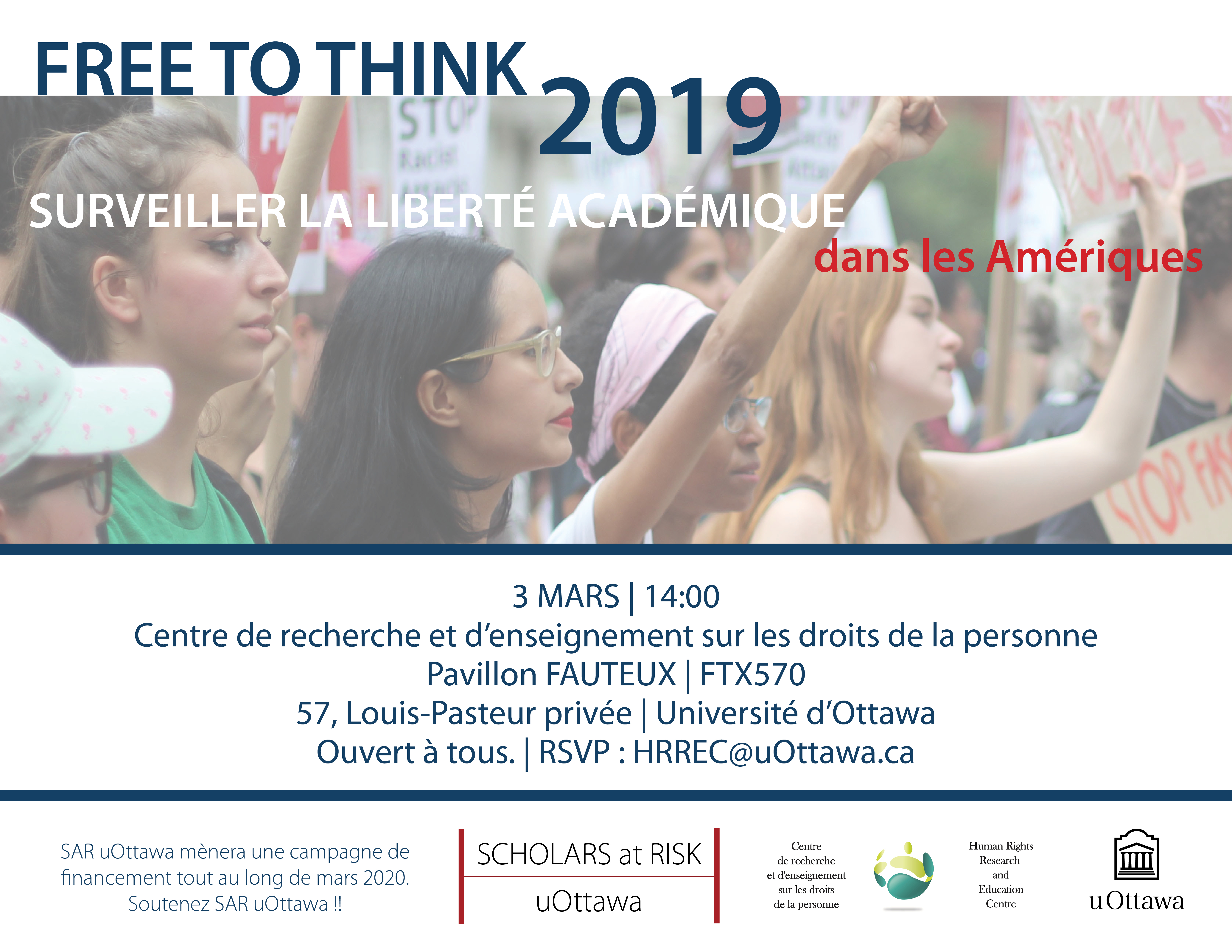 3 MARS - Événement - Free to Think 2019