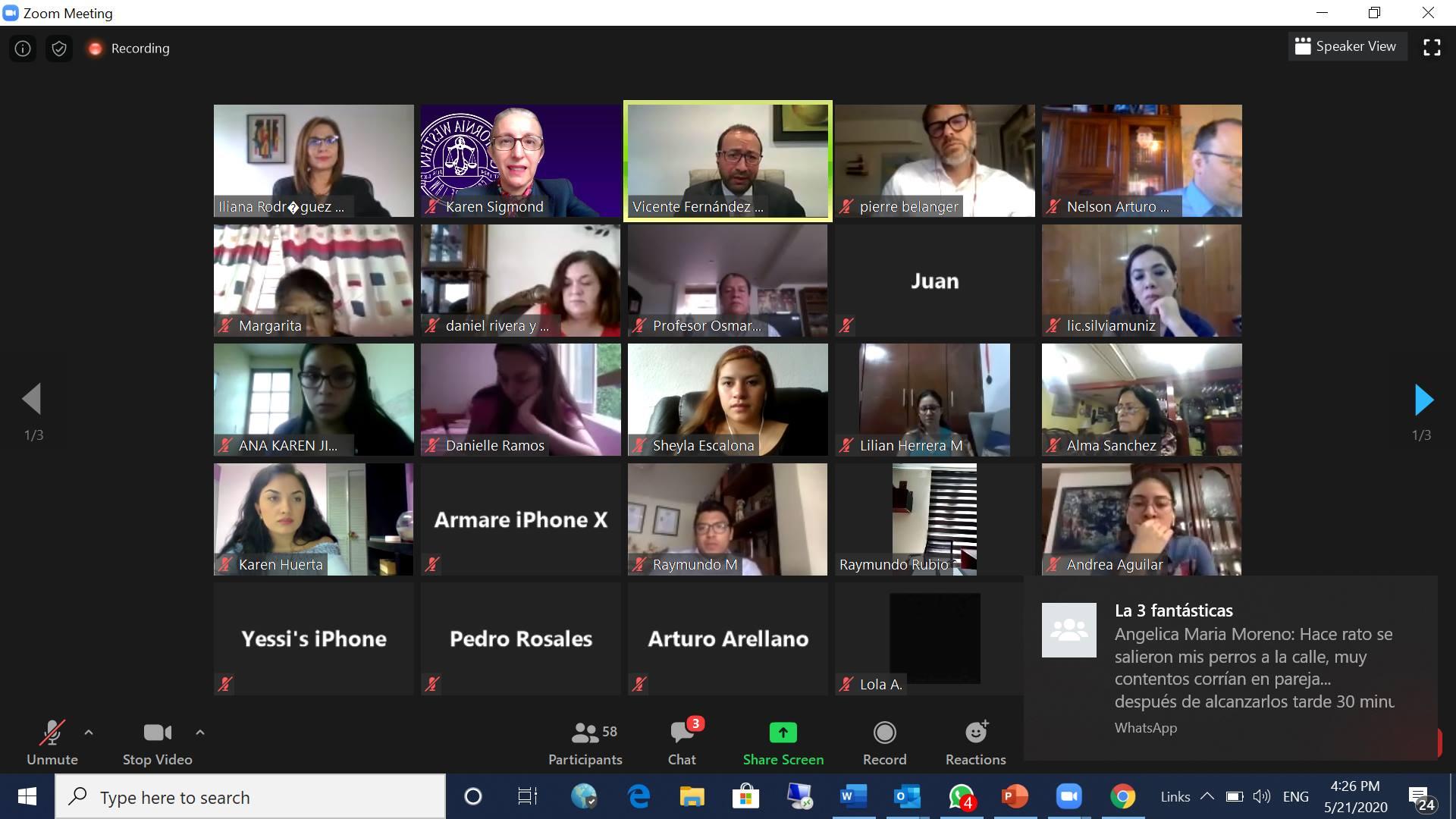 HRREC Members Pierre-Gilles Bélanger & Nelson Arturo Ovalle Diaz in a Virtual Panel