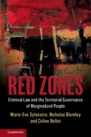 BOOK | Red Zones: Criminal Law and the Territorial Governance of Marginalized People