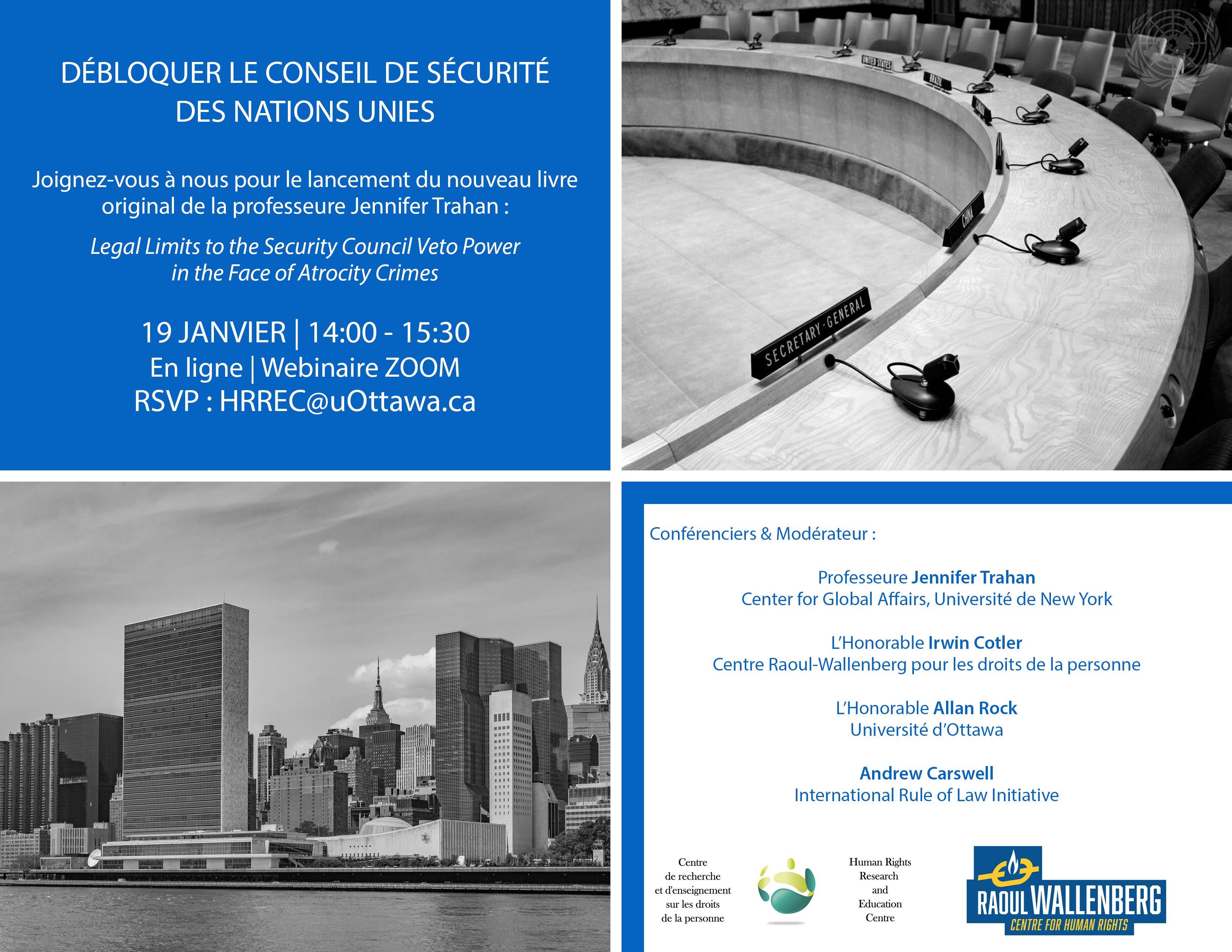 Webinaire - Débloquer le Conseil de sécurité des Nations unies