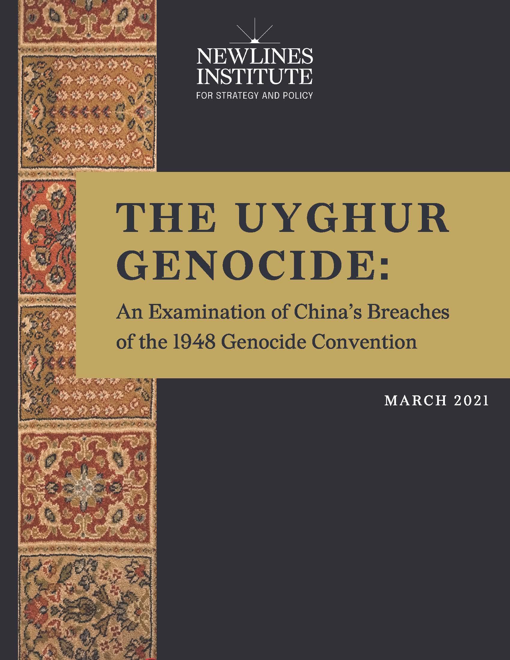 REPORT | Uyghur Genocide - March 2021