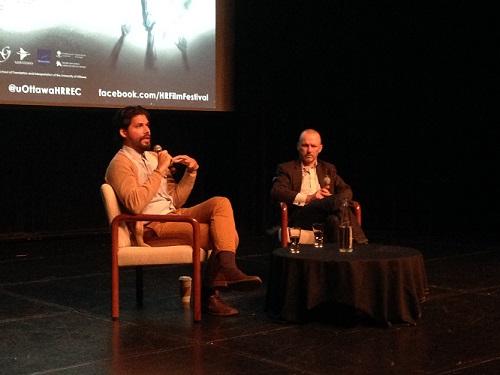 Panel pour le film « El Huaso » lors du 2e Festival du film sur les droits de la personne OCT 2014