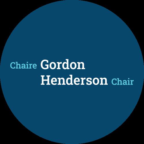 Round Logo Gordon F. Henderson Chair in Human Rights