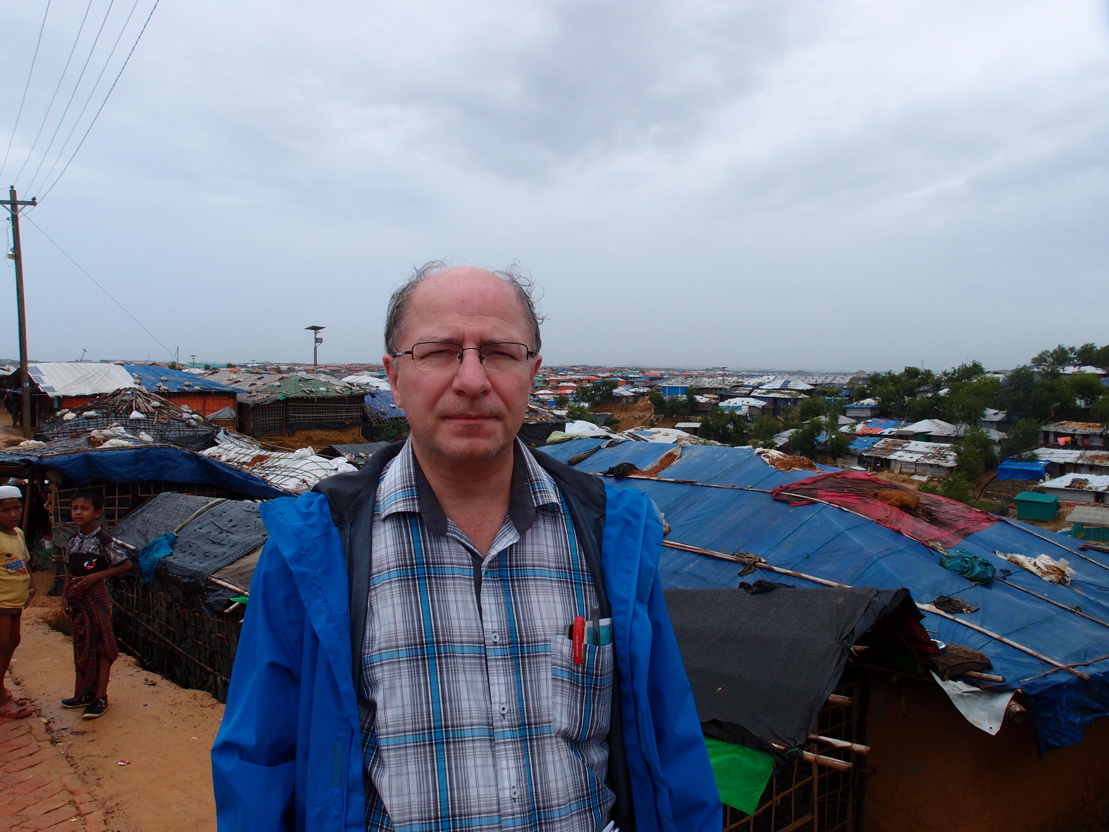 John Packer in Bangladesh - Rohingya Refugee Camp