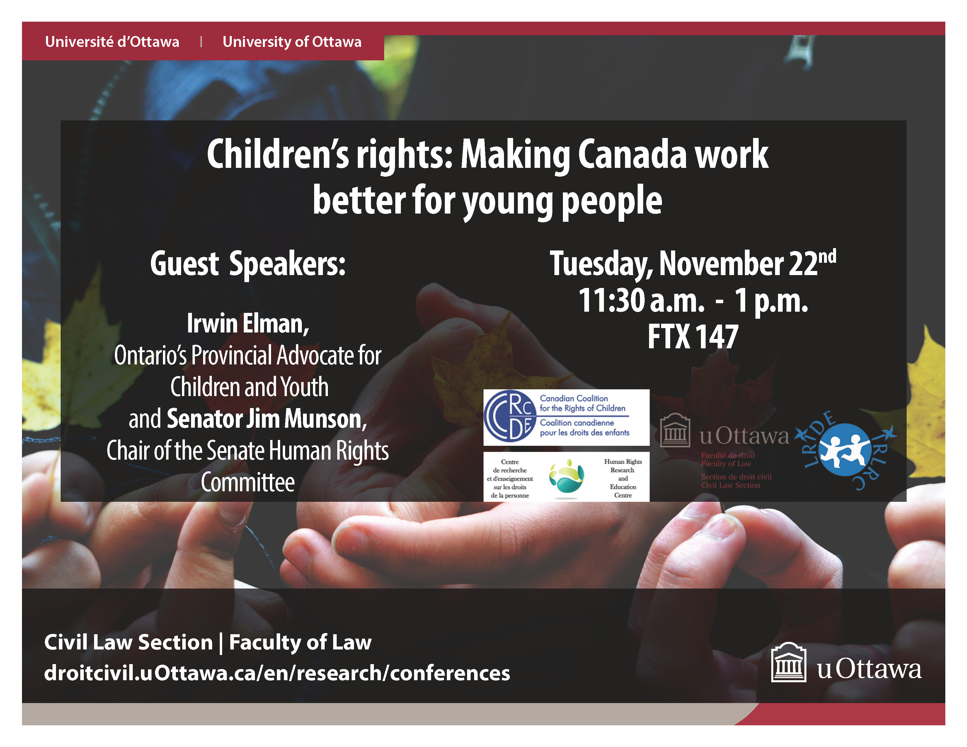 Making Canada Work better for Young People