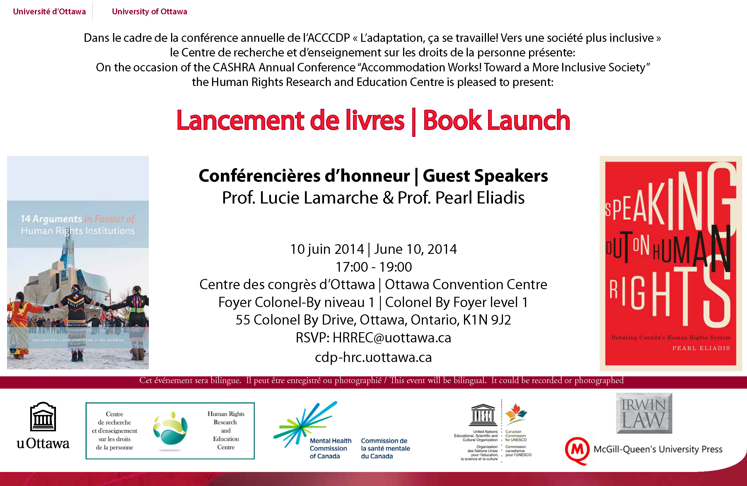 Lucie Lamarch Book Launch