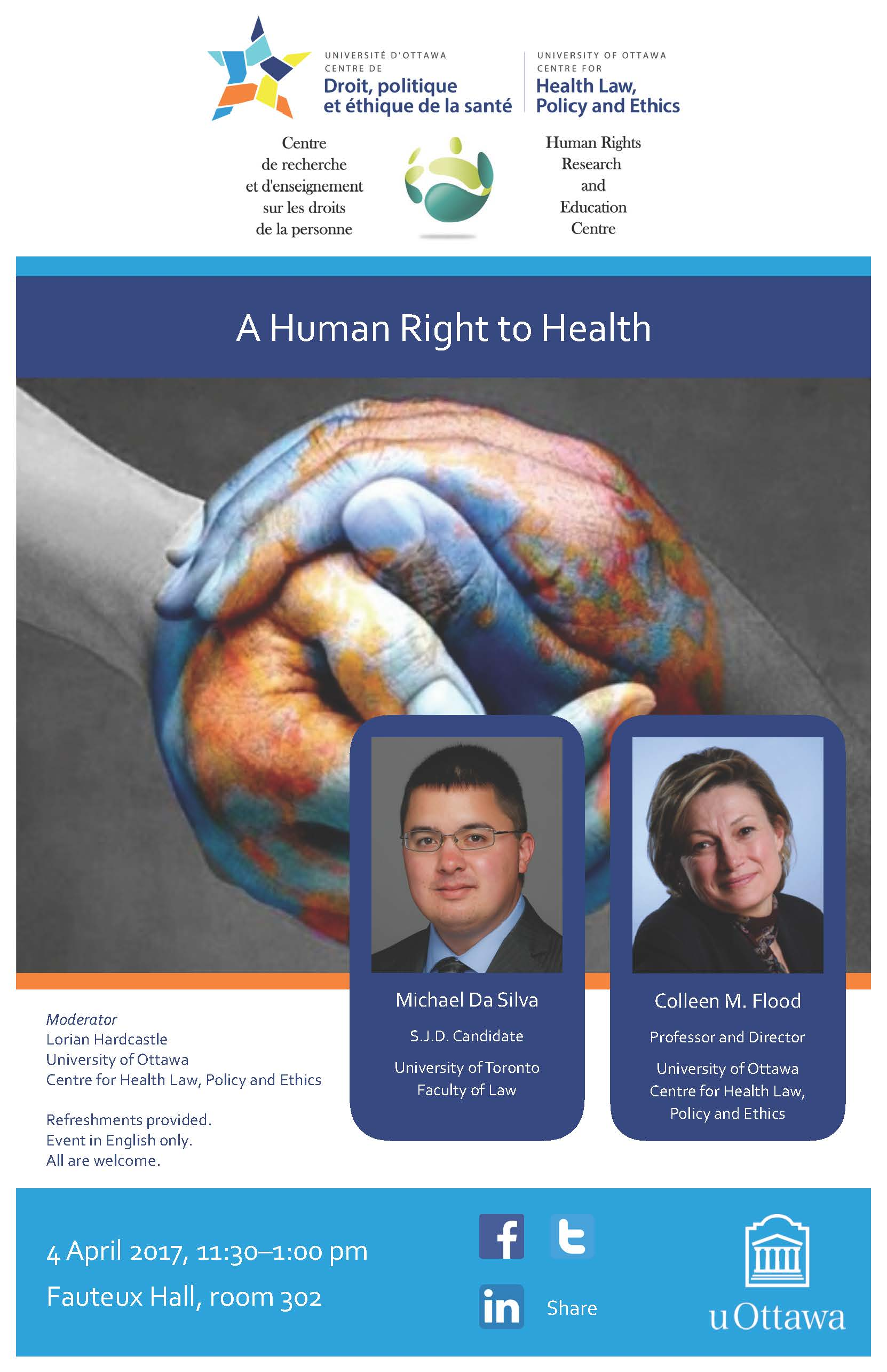 Presentation | Présentation - A Human Right to Health