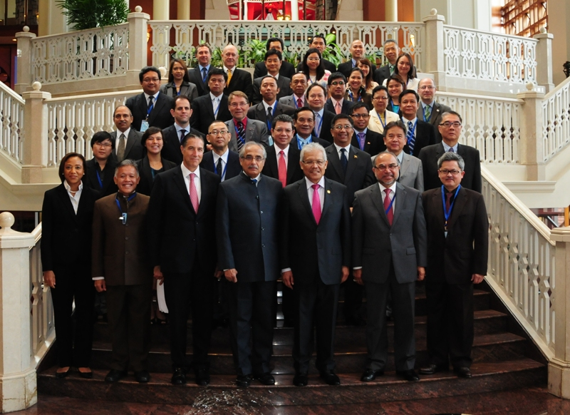 John Packer participate at the second UN-ASEAN Regional Dialogue meeting in Myanmar.