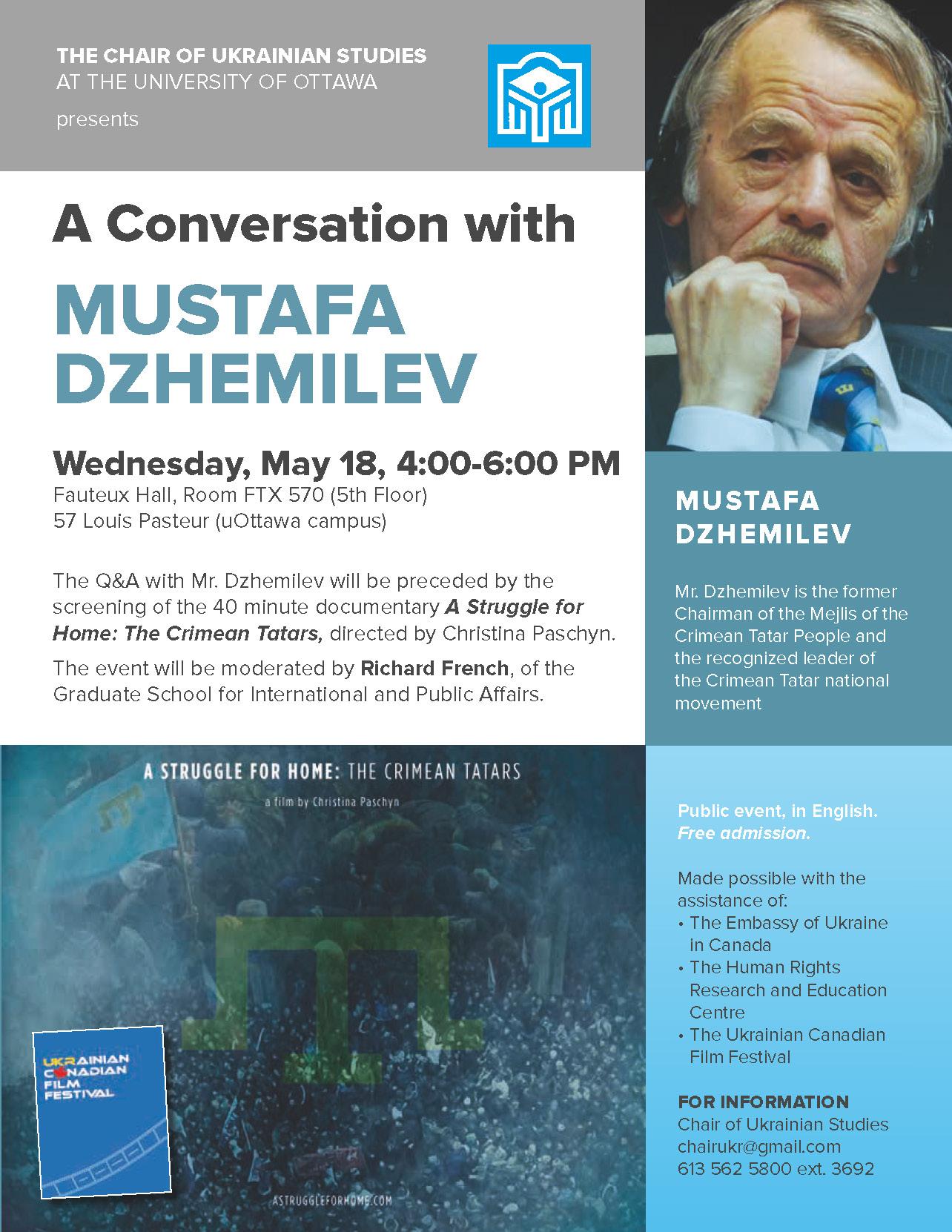 Une conversation avec Mustafa Dzhemilev