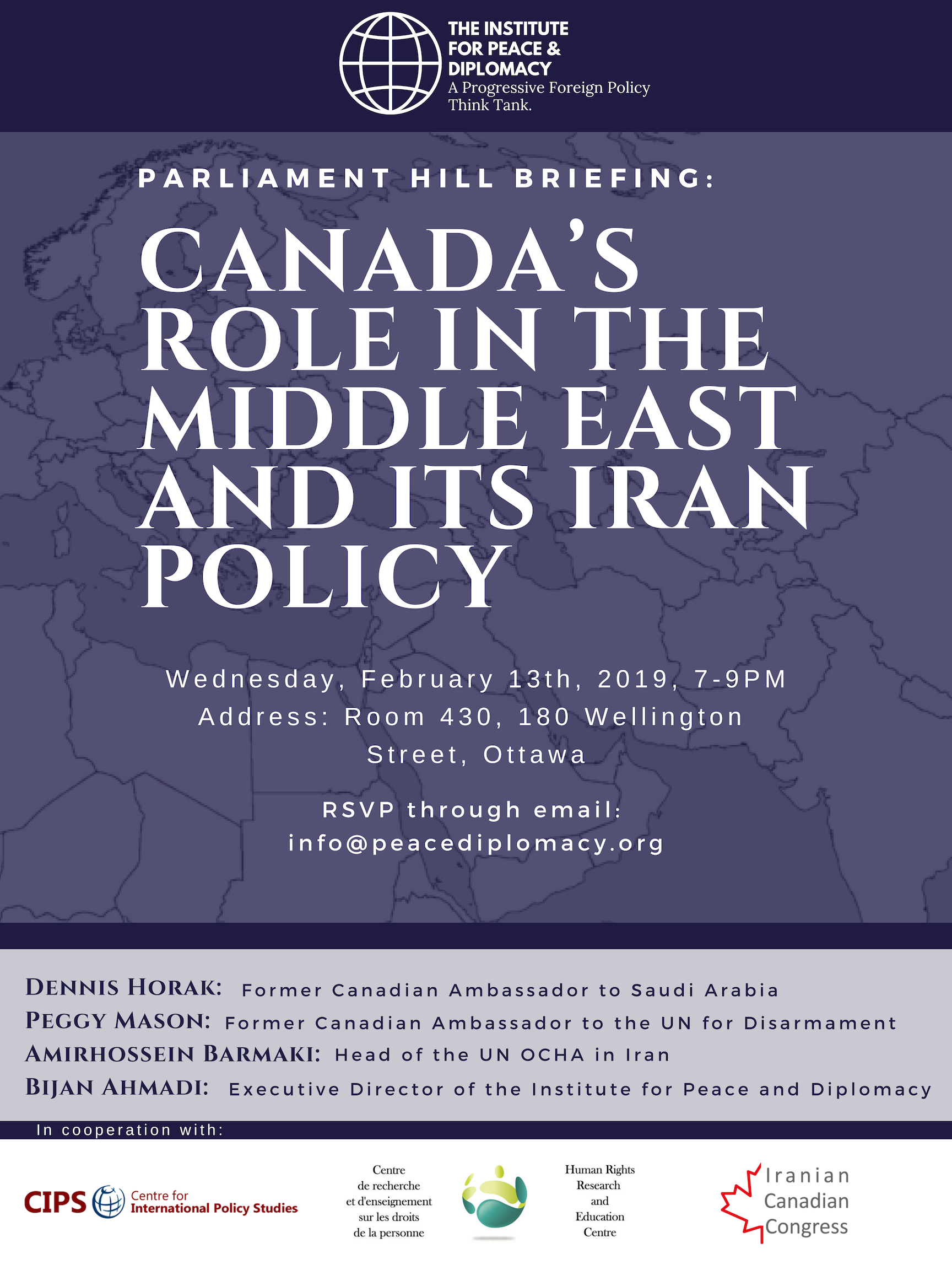 Canada's Role in the Middle East and its Iran Policy