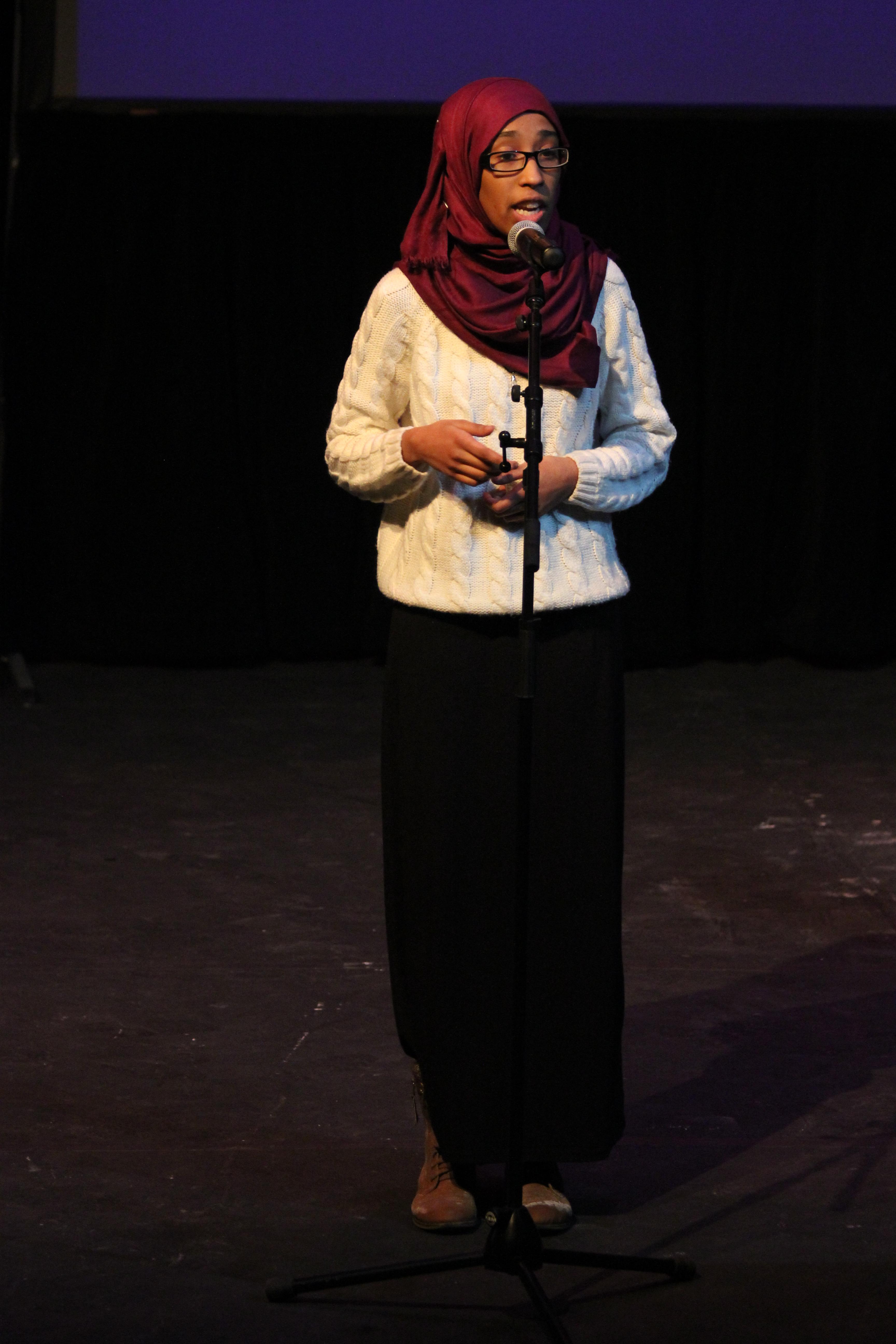 Roua Aljied, Spoken word artist
