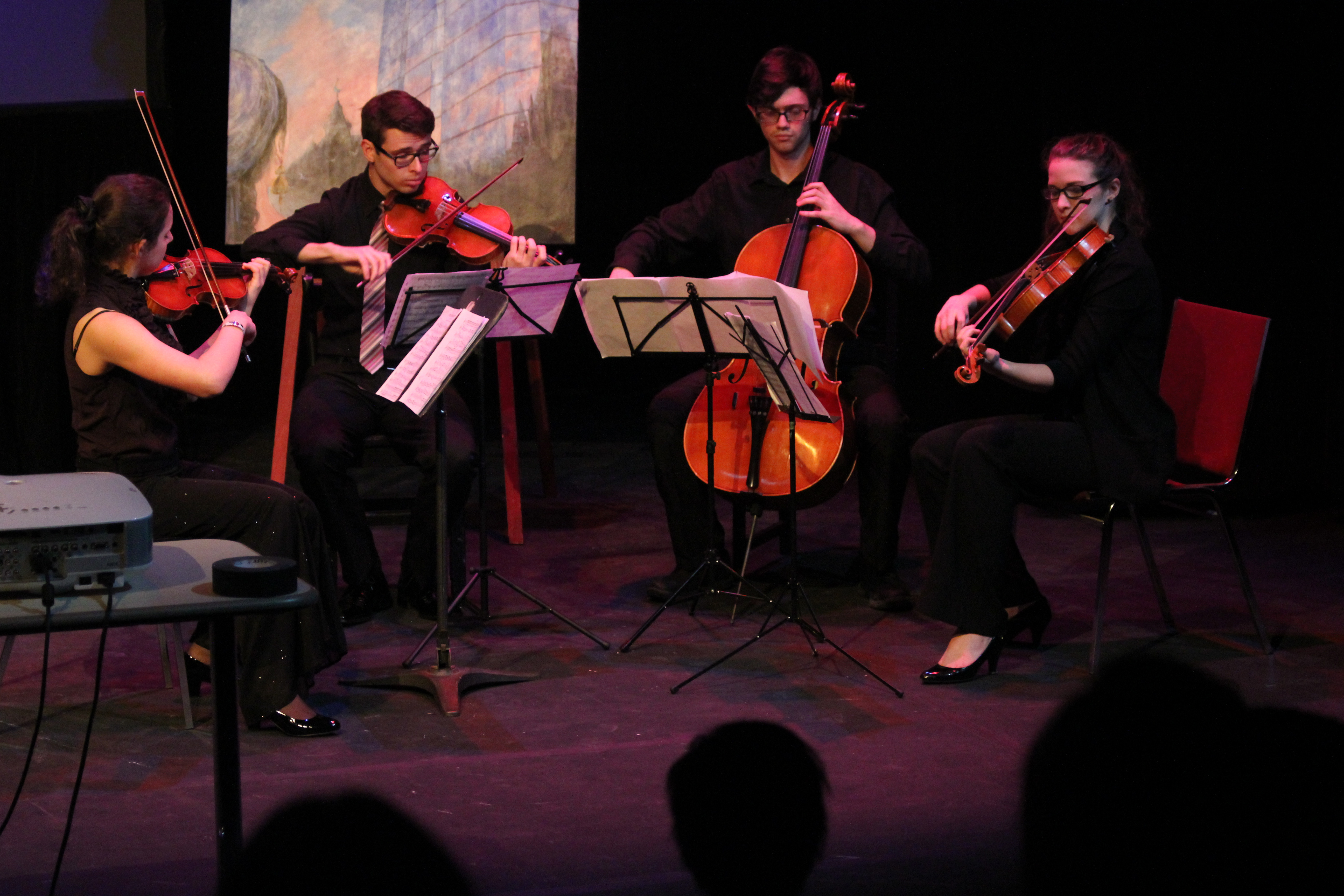 Opus Quartet, School of Music, University of Ottawa