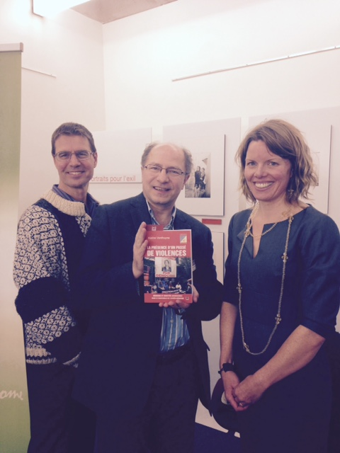 The author with John Packer and Stephen Baranyi