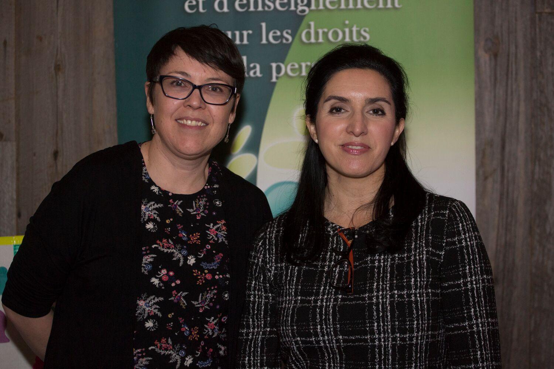Caroline Faucher & Viviana Fernandez