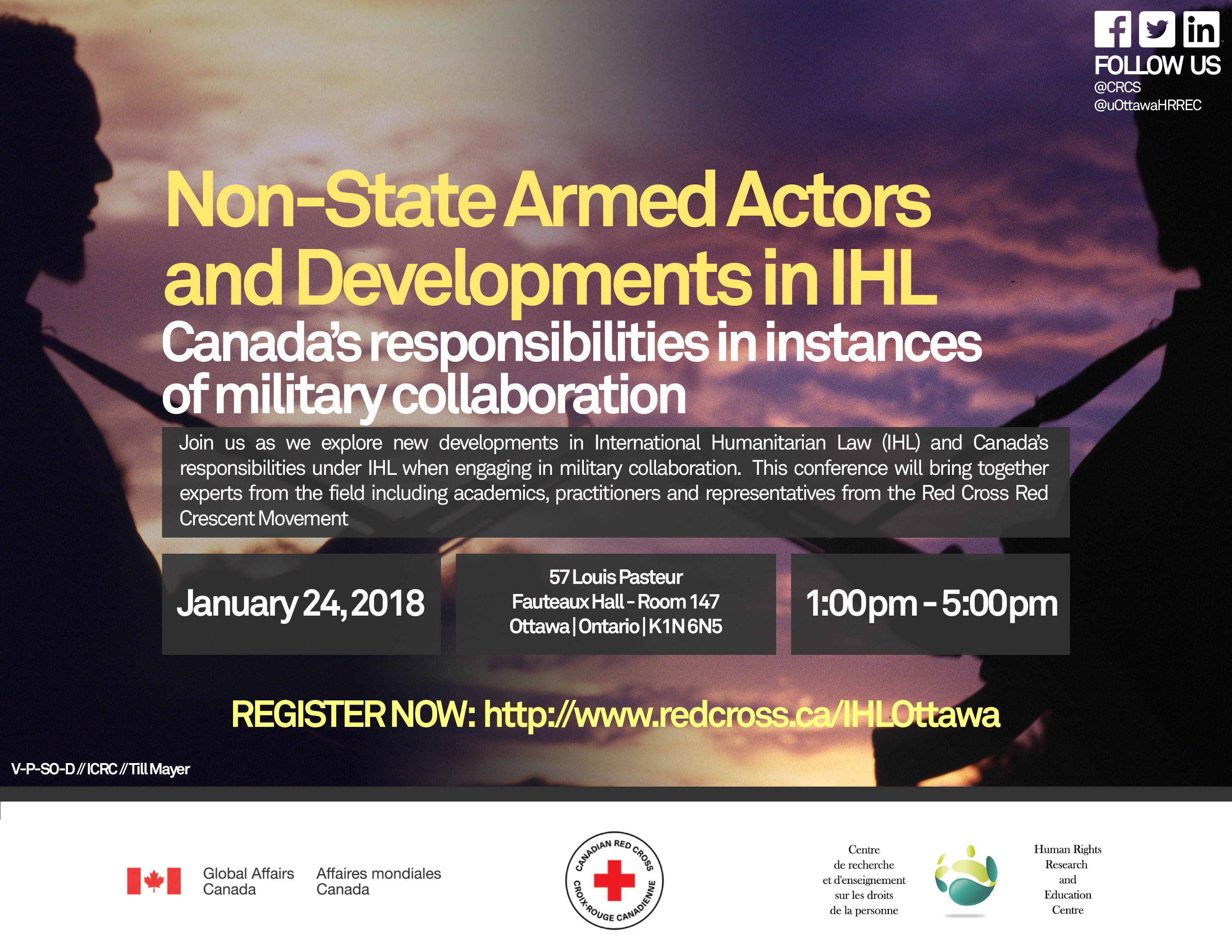 2018 Conference of the Canadian Red Cross on IHL
