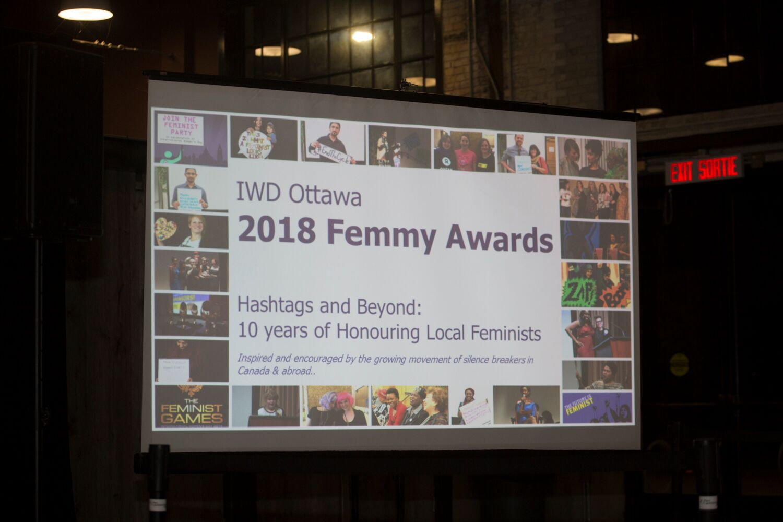 Journée internationale de la Femme Ottawa 2018
