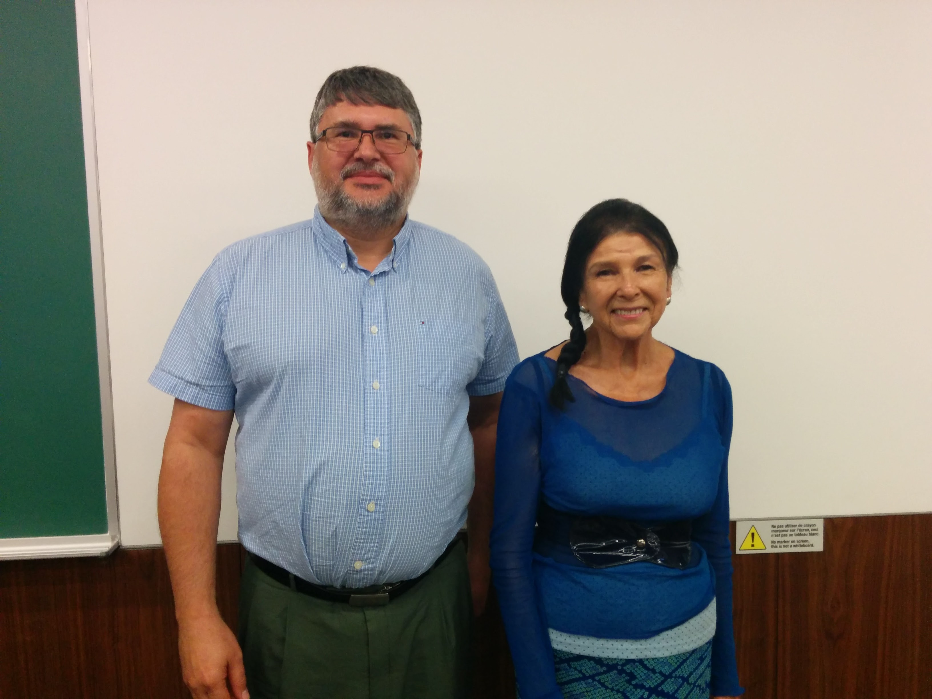 Larry Chartrand & Alanis Obomsawin