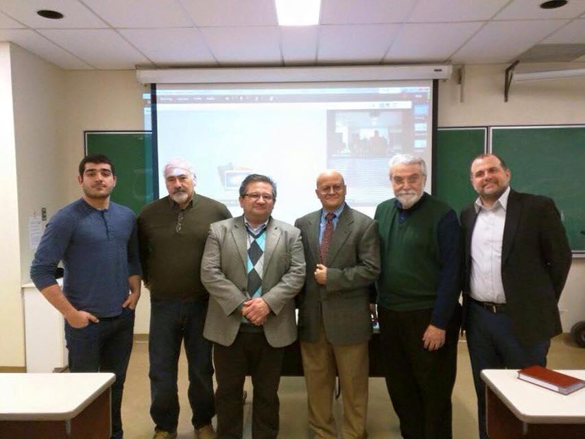 Federico Albrarrán, Alfredo Lascoutx, Josué Ramírez, Angel Alvarez, Alfredo Michelena et Isaac Nahón-Serfaty.