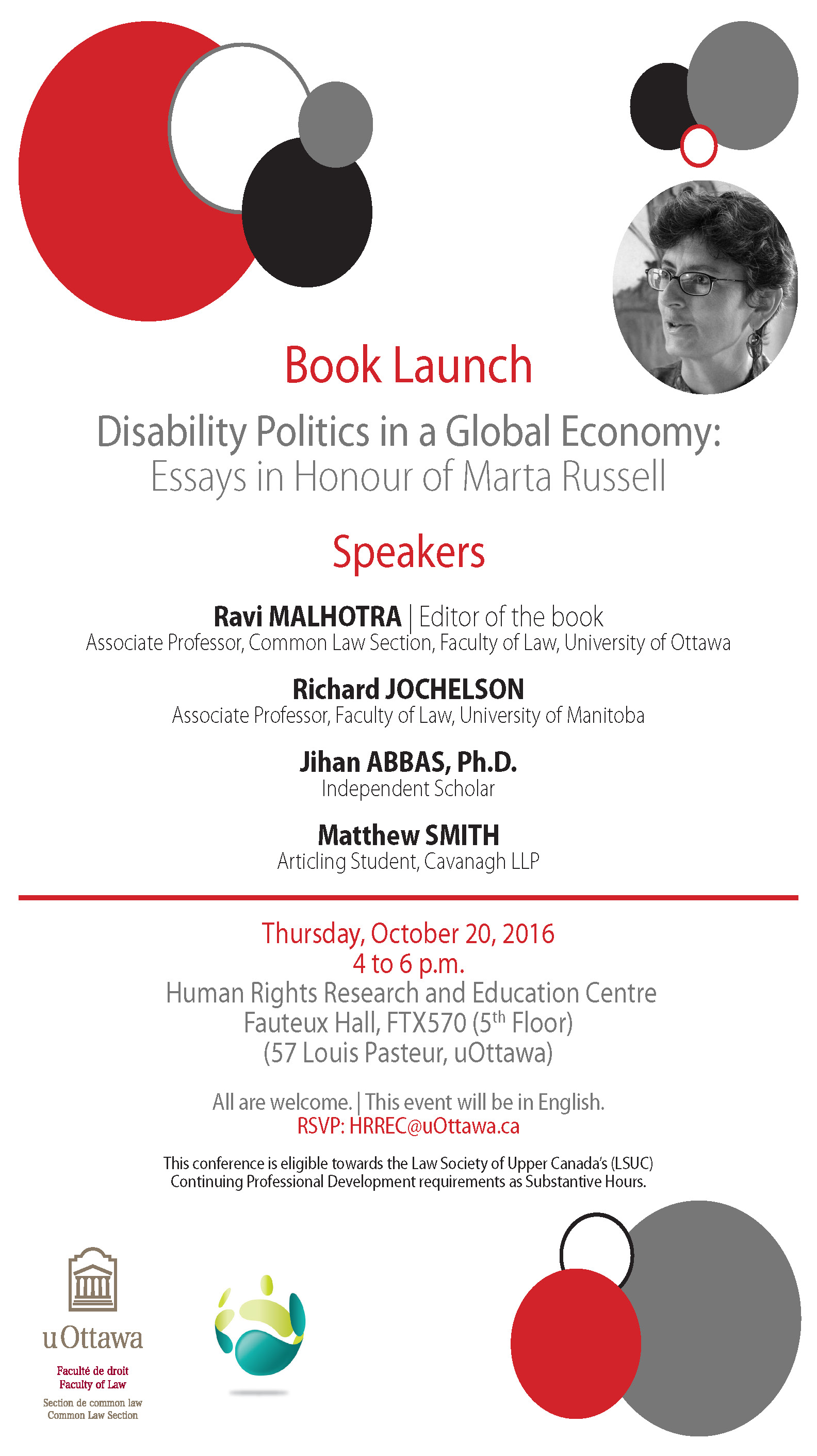 Essays in Honour of Marta Russell