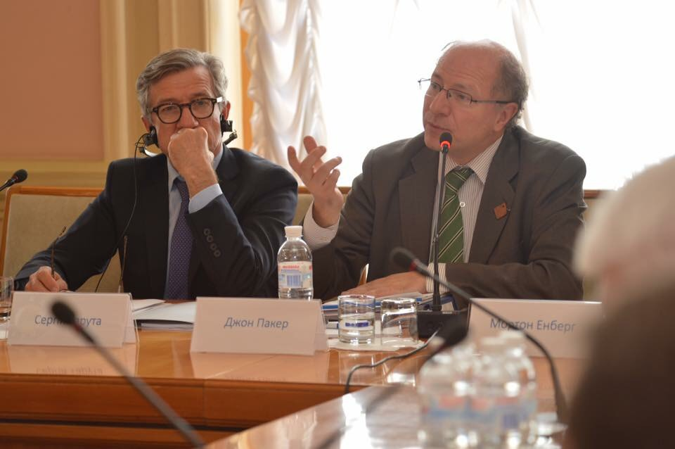 John Packer addresses Ukrainien Parliamentary Committee in Kyiv - July 2017