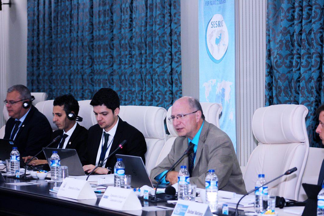 Professor John Packer in Ankara, Turkey