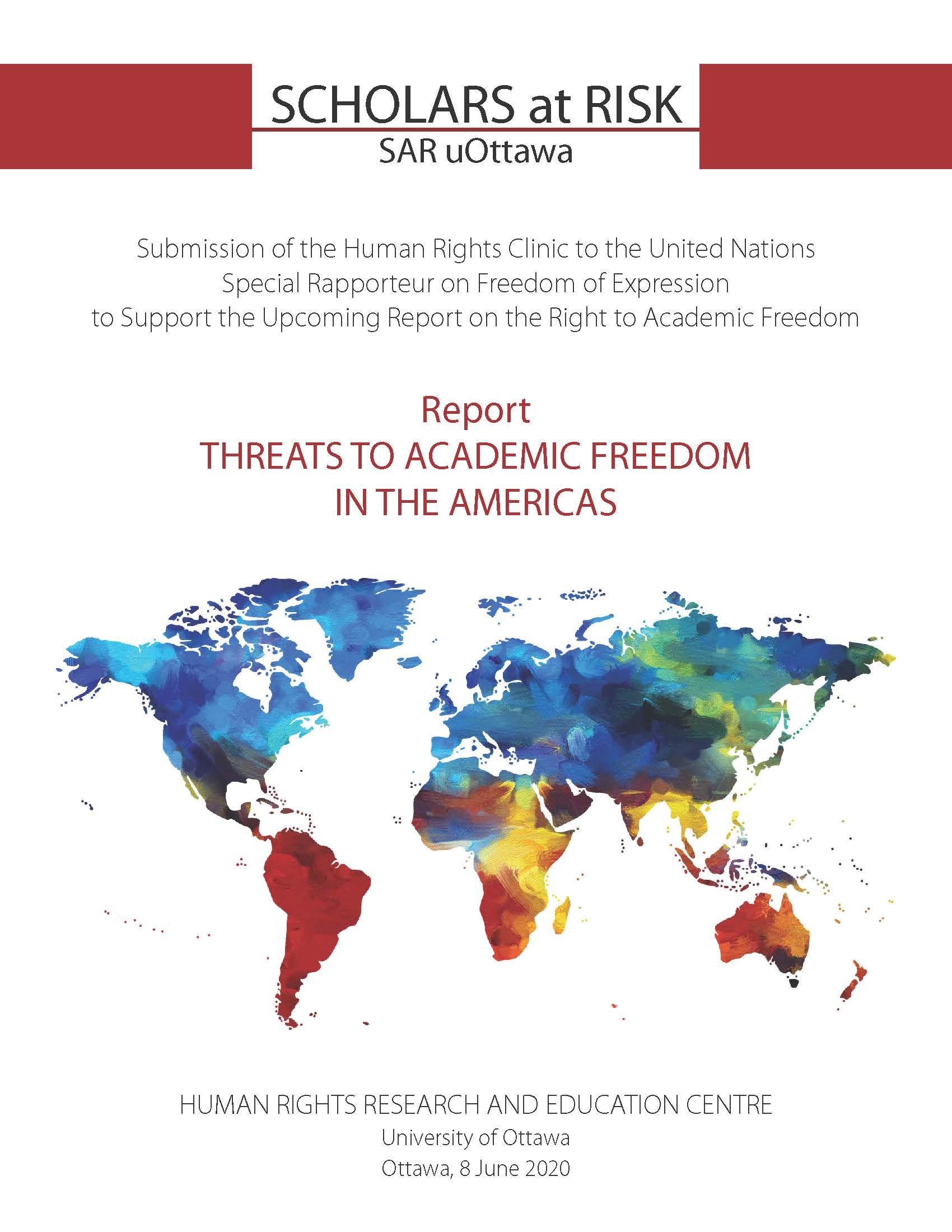 Academic Freedom Report 2020