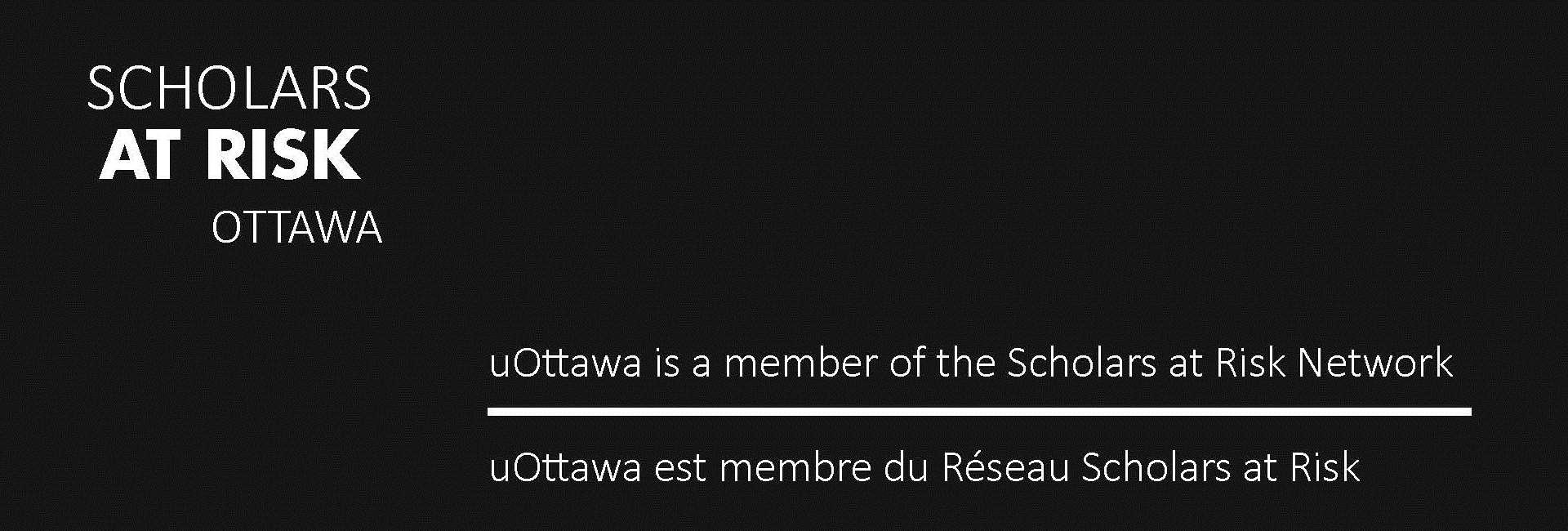 Scholars at Risk Ottawa