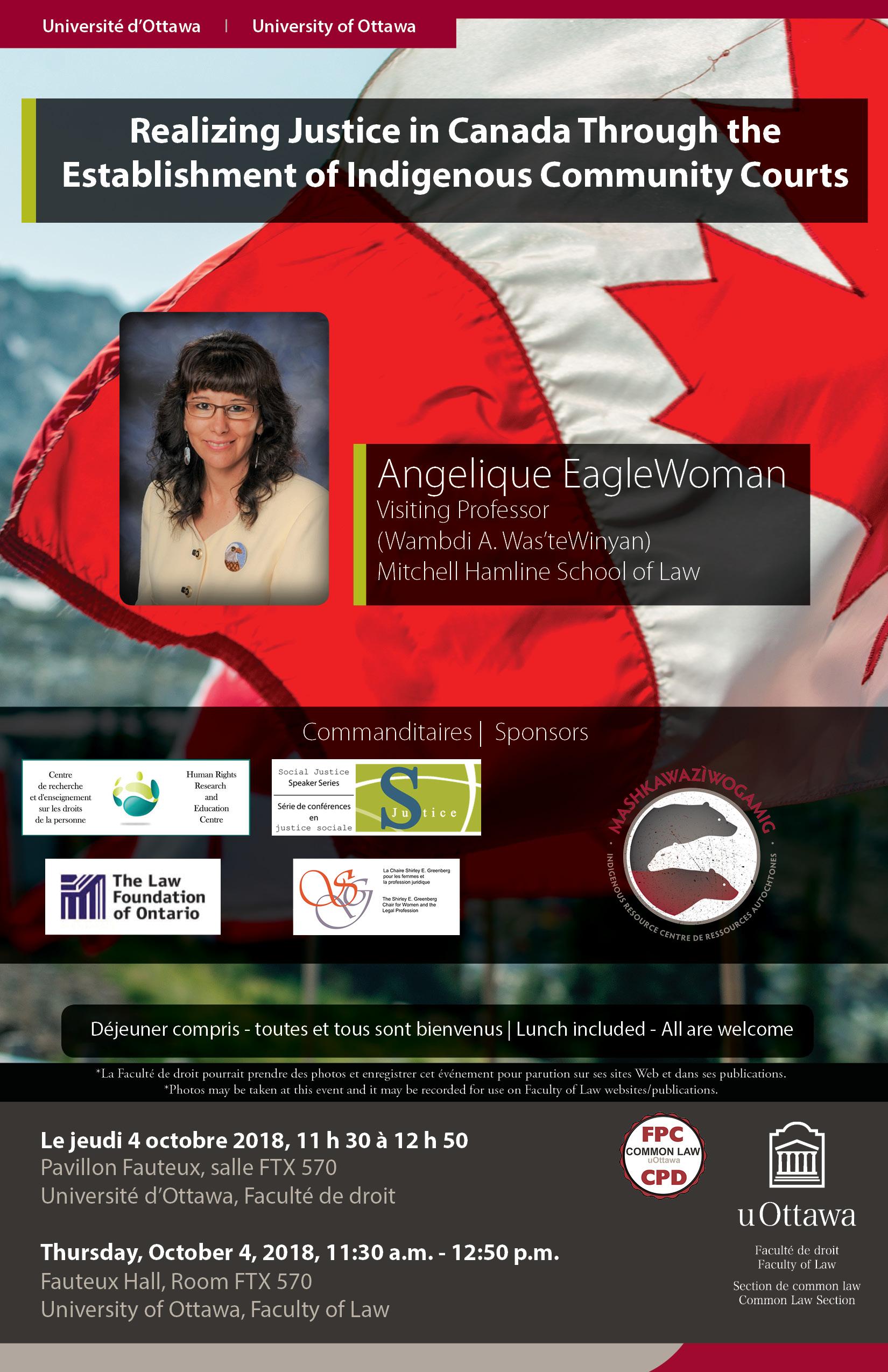 Presentation - Angelique EagleWoman