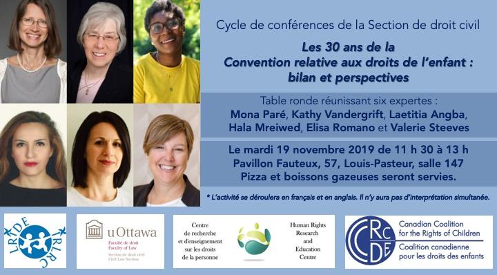 Événement sur les 30 ans de la Convention relative aux droits des enfants