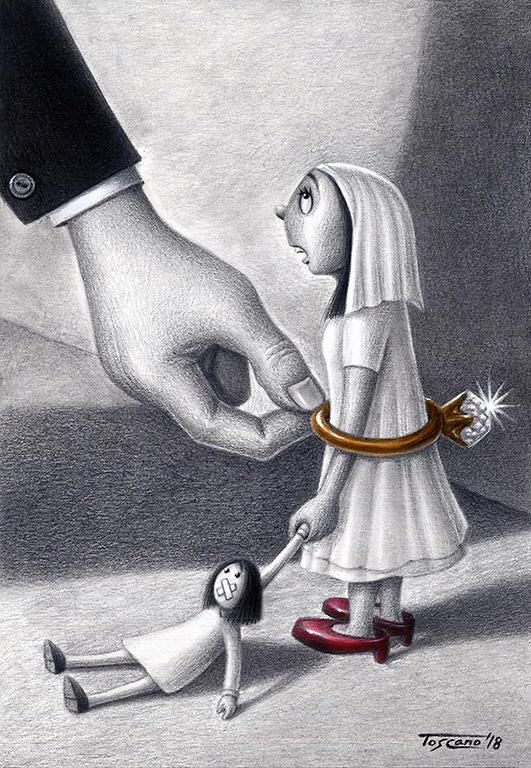 Cartoon by Walter Toscano
